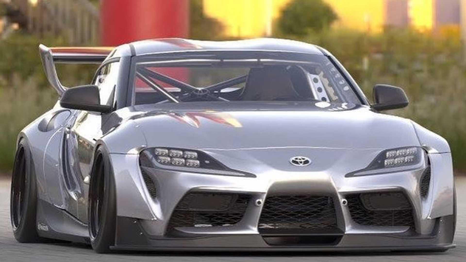Toyota Supra Pandem body kit