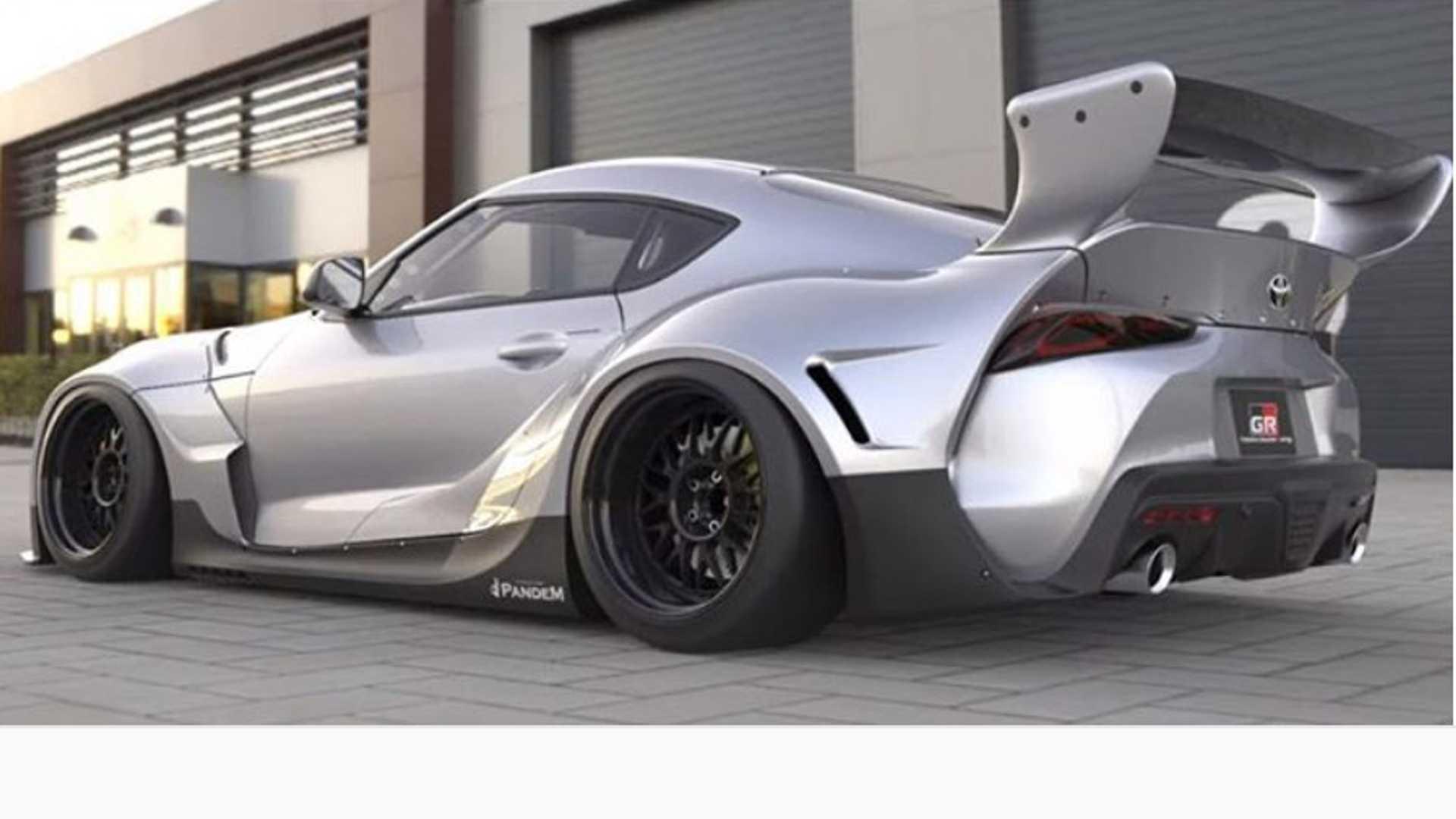 Pandem Designs Body Kit For 2020 Toyota Supra - Motor Illustrated