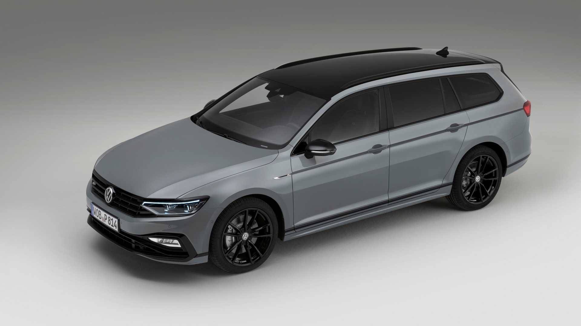 the volkswagen passat variant r line edition is the wagon