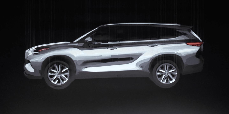 2020 Toyota Highlander New York Auto Show