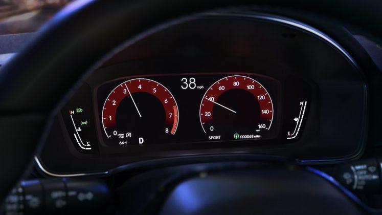 2022 Honda Civic instrument cluster