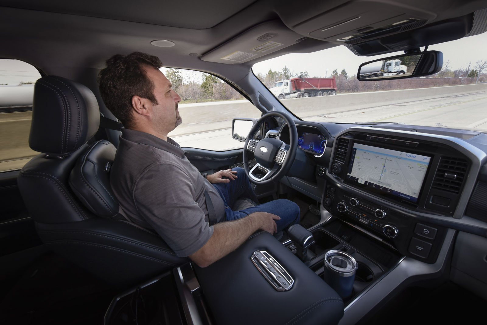 Ford BlueCruise Hands-Free Driving Assistant