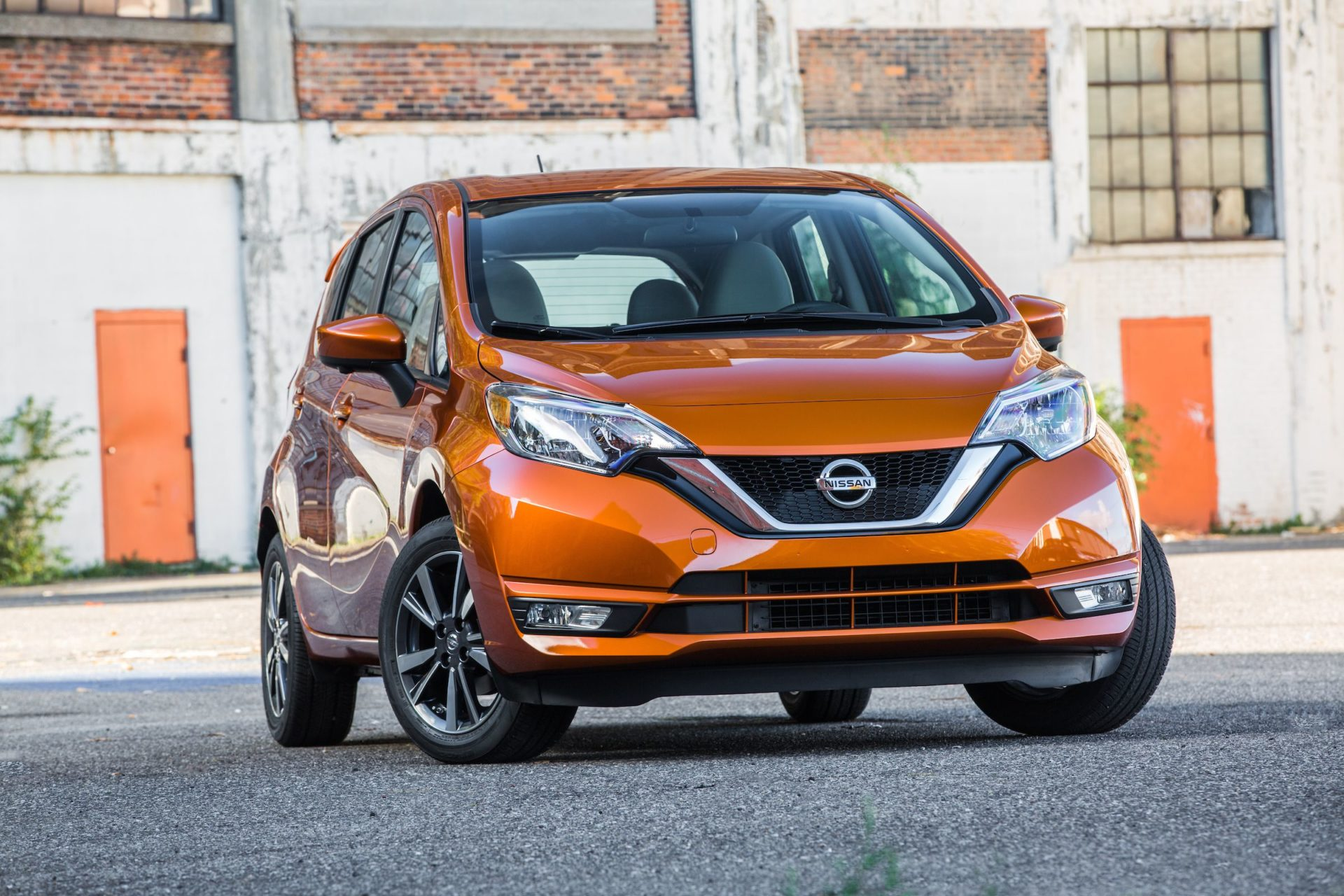 Nissan Versa Note Orange