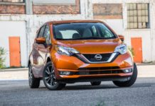 Nissan Versa Note Orange