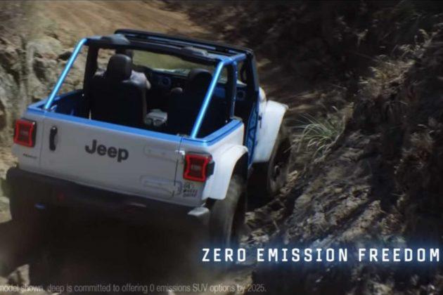 Electric Jeep Model Range