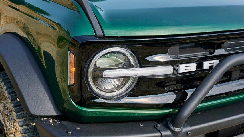 2022 Ford Bronco Eruption Green Metallic