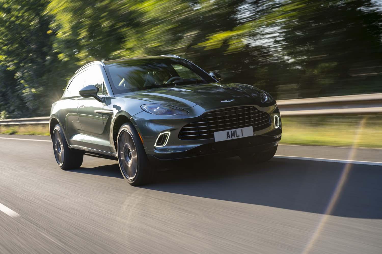 2021 Aston Martin DBX   Photo: Aston Martin