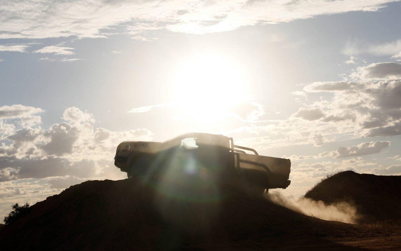 2023 Ford Ranger teaser 2