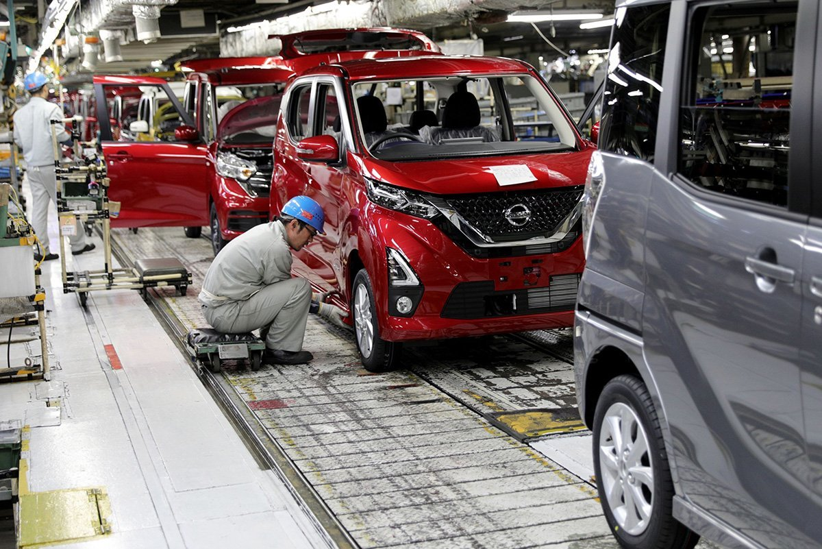 Nissan production Japan