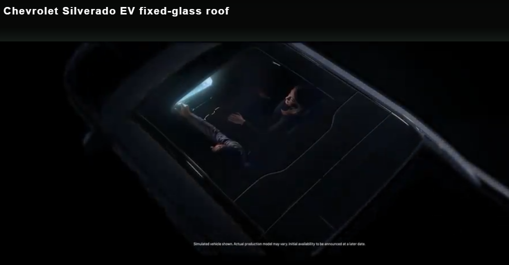 Chevrolet silverado ev teaser