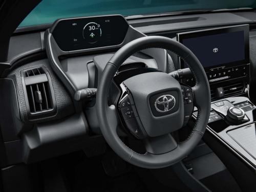 Toyota bZ4X Concept Interior | Photo: Toyota